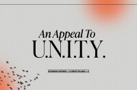 An Appeal to U.N.I.T.Y